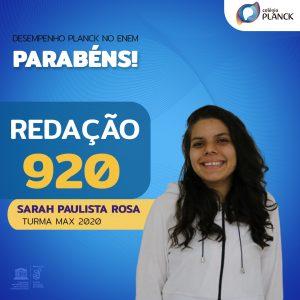 Sarah Fernandes Paulista Rosa